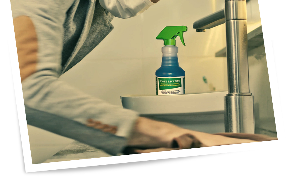 Commercial Grade Spray Disinfectant